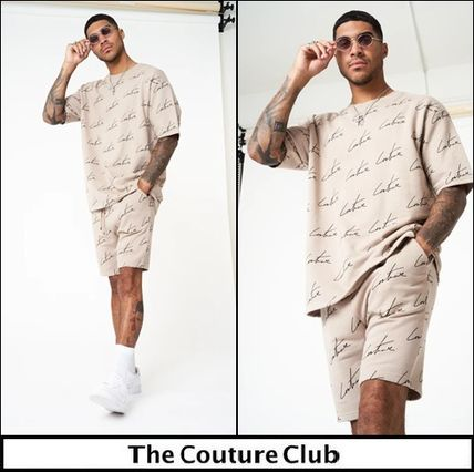 The Couture Club セットアップ 【The Couture Club】SIGNATURE REPEAT PRINT T-SHIRT SET UP