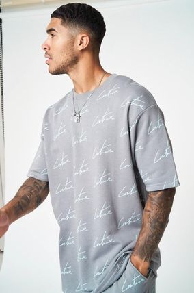 The Couture Club セットアップ 【The Couture Club】SIGNATURE REPEAT PRINT T-SHIRT SET UP(4)