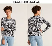 [関税・送料込] BALENCIAGA☆Wavy Checkered Sweater