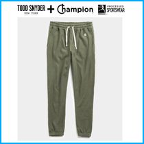 2020新作 ☆Todd Snyder + Champion☆ TERRY CLASSIC SWEATPANT