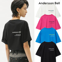ANDERSSON BELL(アンダースンベル) Tシャツ・カットソー ★ANDERSSON BELL★PRINTEMPS ETE ユニセックス 半袖 Tシャツ