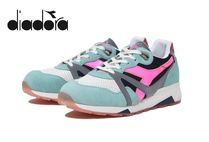 ☆Diadora Heritage☆N9000 H LUMINARIE Italy GREEN COC!