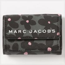 SALE! Marc Jacobs ロゴ  3つ折り ミニ財布 フラワープリント♪
