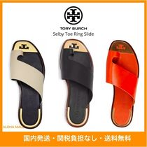 【国内発送】Tory Burch♪Selby Toe Ring Slide♪上品サンダル