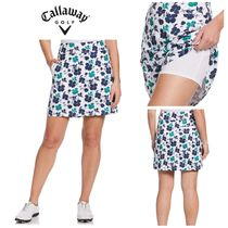 【Callaway Golf】●ゴルフスカート●花柄●Allover Floral
