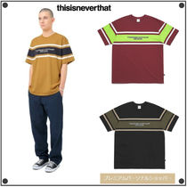 日本未入荷THISISNEVERTHATの3Line Striped Tee 全3色