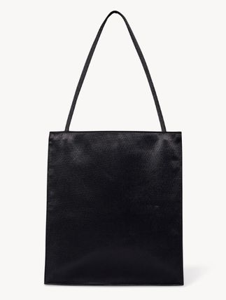 The Row トートバッグ 【完売必須/関税込】THE ROW Flat レザー トート 2color(4)