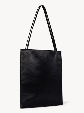 The Row トートバッグ 【完売必須/関税込】THE ROW Flat レザー トート 2color(5)