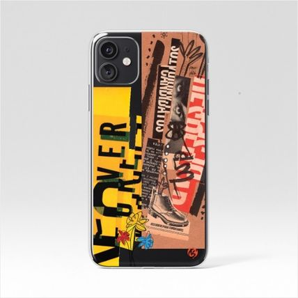 Geeky スマホケース・テックアクセサリー 【GEEKY】Message Case 全16種 iPhone,Galaxy Clear Case(15)