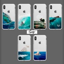 【GEEKY】Oceans of Fantasy 全6種 iPhone,Galaxy Clear Case