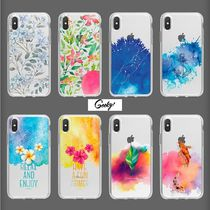 【GEEKY】Watercolor Case 全8種 iPhone,Galaxy Clear Case