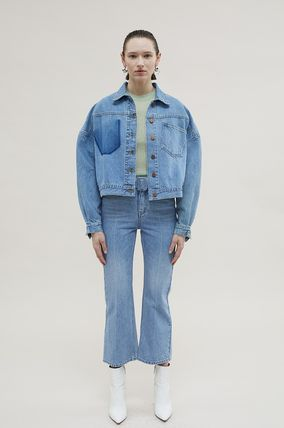 ANDERSSON BELL デニム・ジーパン 【ANDERSSON BELL】20SS BELTED CROPPED デニムジーンズ(2)