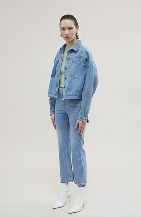 ANDERSSON BELL デニム・ジーパン 【ANDERSSON BELL】20SS BELTED CROPPED デニムジーンズ(3)