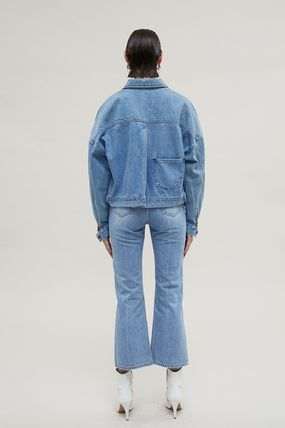 ANDERSSON BELL デニム・ジーパン 【ANDERSSON BELL】20SS BELTED CROPPED デニムジーンズ(4)