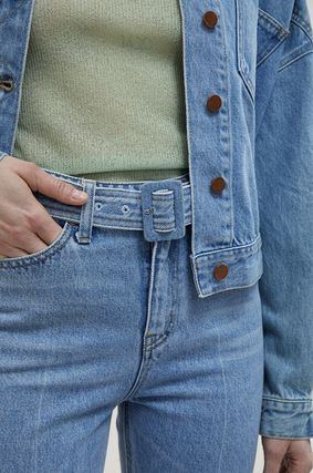 ANDERSSON BELL デニム・ジーパン 【ANDERSSON BELL】20SS BELTED CROPPED デニムジーンズ(5)