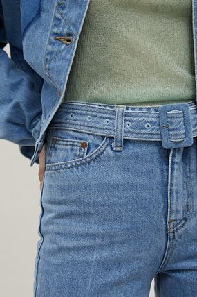 ANDERSSON BELL デニム・ジーパン 【ANDERSSON BELL】20SS BELTED CROPPED デニムジーンズ(6)