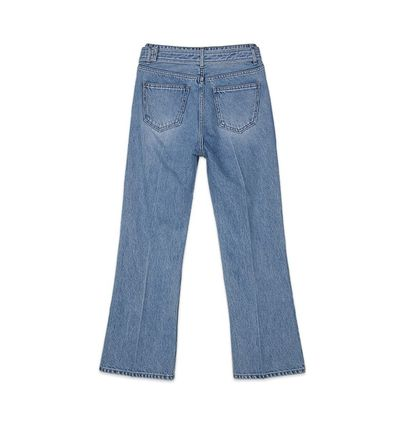 ANDERSSON BELL デニム・ジーパン 【ANDERSSON BELL】20SS BELTED CROPPED デニムジーンズ(9)