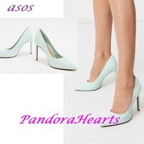 ASOS DESIGN Porto pointed high heeled court shoes