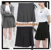 ★送料・関税込★Raucohouse★STRAP PLEATS SKIRT★