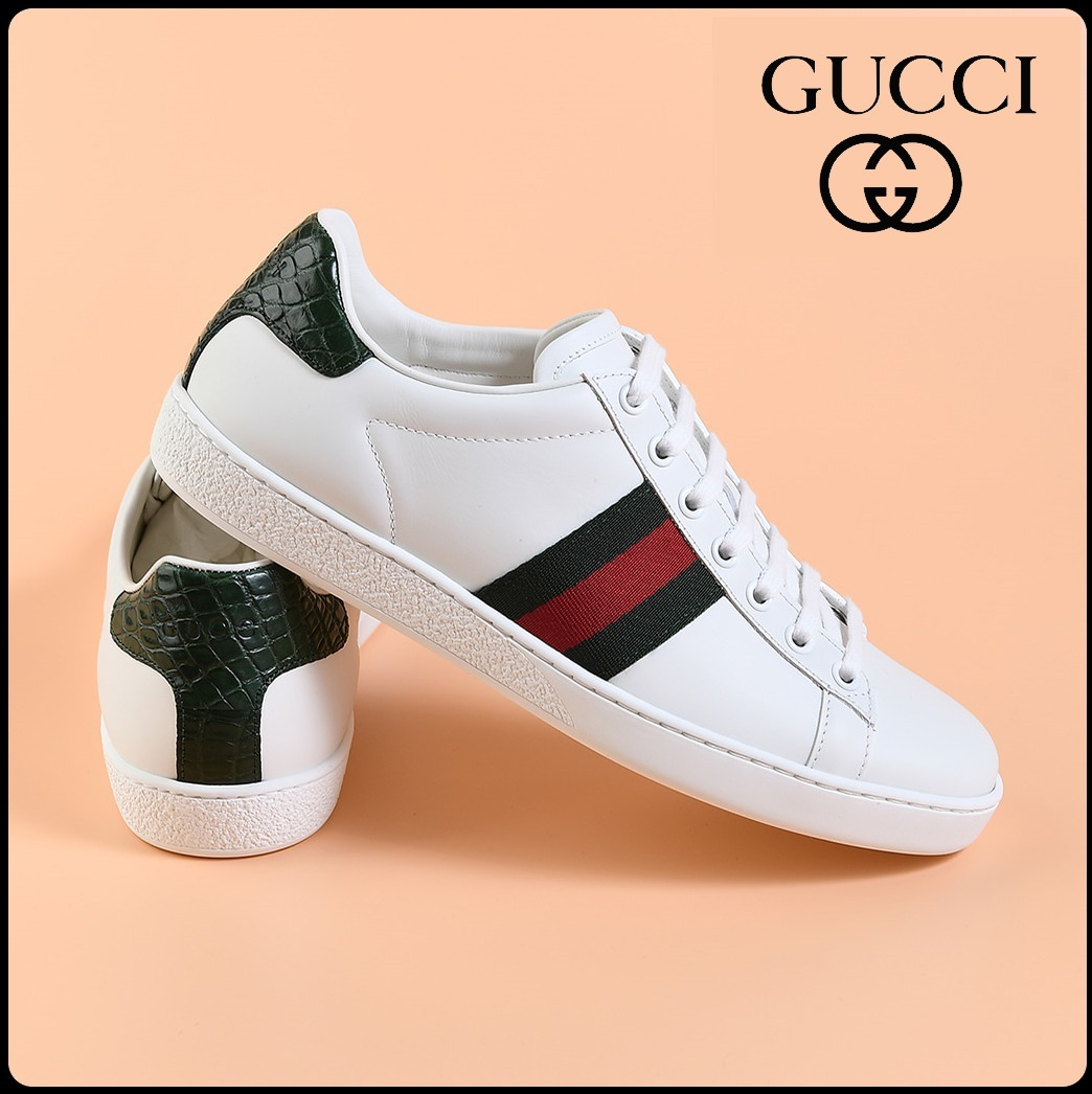GUCCI Ace 2020 SS Unisex Street Style