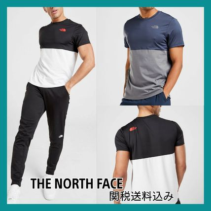 THE NORTH FACE セットアップ THE NORTH FACE*ロゴTシャツ&短パン 上下セット/関税送料込