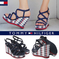 ◆大人気◆Tommy Hilfiger◆Flag Strap Wedge Hill◆送料無料◆