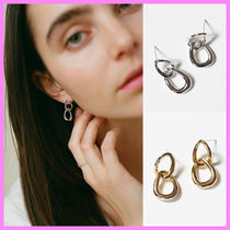 【A BIT MOR】Double Chain Earring〜ダブルチェーンピアス