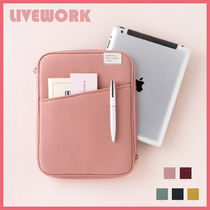 ◆LIVEWORK◆ POCKET iPad POUCH (全5色) タブレットポーチ 人気
