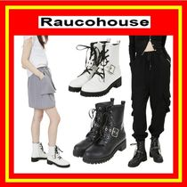 [Raucohouse]   LEATHER BUCKLE WALKER //追跡付