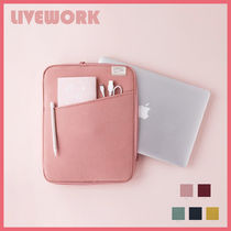 ◆LIVEWORK◆ POCKET NOTEBOOK POUCH (全5色) PCポーチ 13インチ