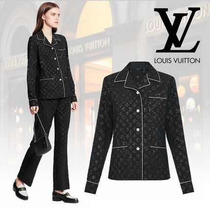 Louis Vuitton ルームウェア・パジャマ 【直営店買付】 LV 20SS 新作 モノグラムパジャマ