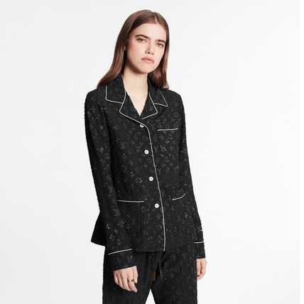 Louis Vuitton ルームウェア・パジャマ 【直営店買付】 LV 20SS 新作 モノグラムパジャマ(4)