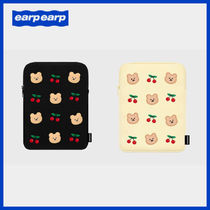 ◆EARPEARP◆ DOT CHERRY BEAR iPad POUCH タブレットポーチ