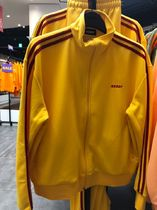 [NERDY] NY Track Top Yellow ジップアップ