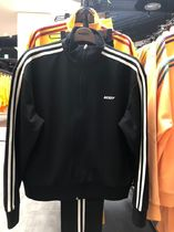 [NERDY] NY Track Top Black ジップアップ