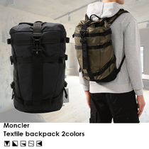 【SS20/日本未入荷!!】MONCLER Textile backpack リュック 2色