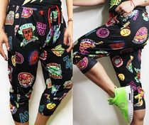 新作♪Zumbaズンバ Zumba All Stars Harem Capri Pants - Black