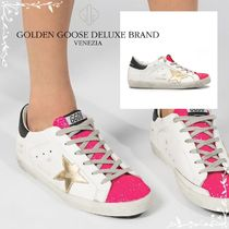 Golden Goose★Superstar White Leather Sneakers G36WS590.S45