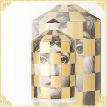 FORNASETTI(フォルナセッティ) 帽子・その他 関税込み 送料無料セール中Scacco Otto scented candle, 300g