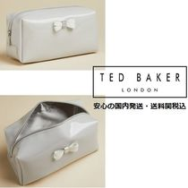 Ted Baker グレー Eulaliリボンディテール メイクアップポーチ♪
