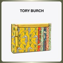 【TORY BURCH】シーホース♪PERRY PRINTED Top-Zip CARD CASE