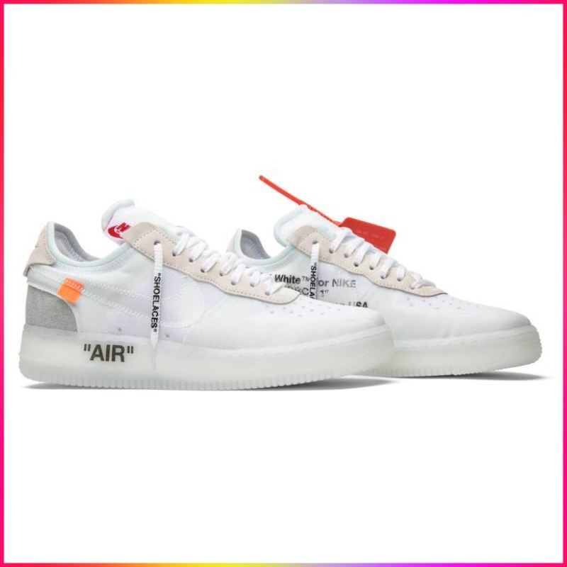 2017 Nike Air Force 1 Low Off-White エアフォース 1 ロー (Off-White/スニーカー) AO4606-100