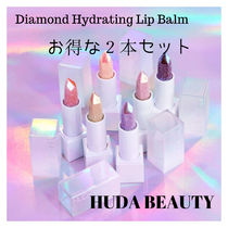 お得な2本セットHUDA BEAUTY☆Diamond Lip Balm
