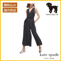 【Kate Spade】lia dot jumpsuit ドット柄◆国内発送◆