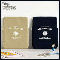 ◆PEANUTS◆ SNOOPY TIME iPad POUCH (全2色) タブレッドポーチ