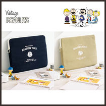 ◆PEANUTS◆ SNOOPY TIME PC POUCH (全2色) PCポーチ 15インチ