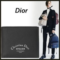 DIOR Dior Homme atelier logo アトリエ 折りたたみ財布