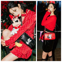 ★STRETCH ANGELS★ Minnie-Mouse Panini Bag(2色)