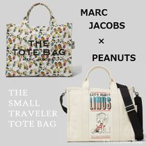 MARC JACOBS【スヌーピーコラボ】THE SMALL TRAVELER TOTE BAG☆