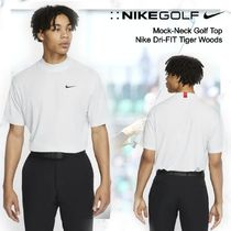【Nike Golf 】 Mock-Neck Golf Top Nike Dri-FIT Tiger Woods